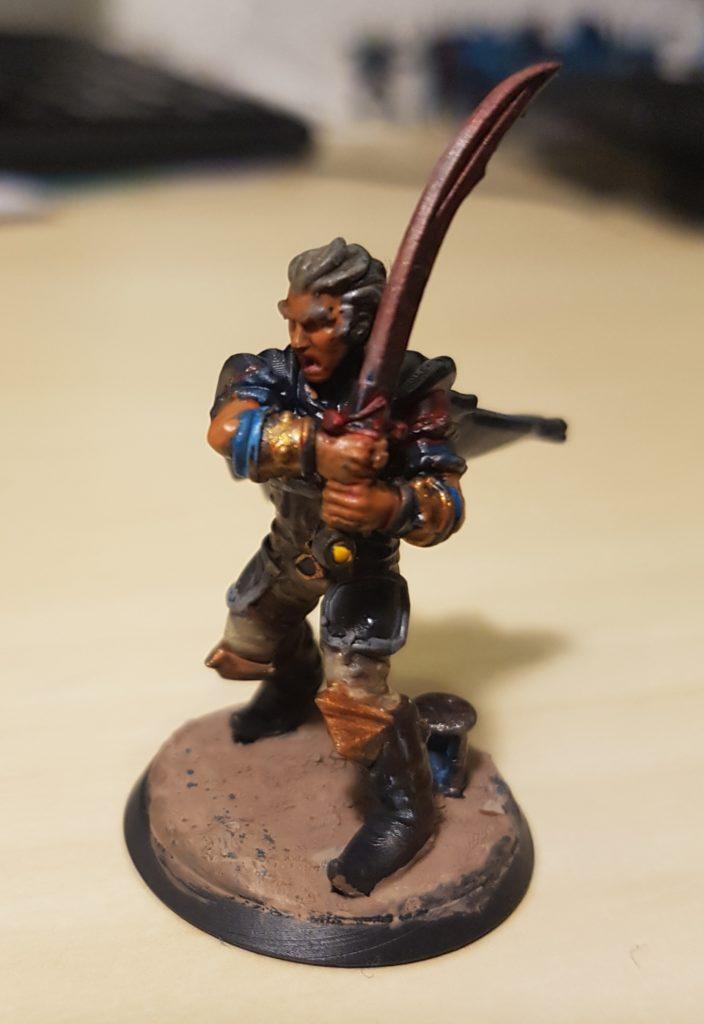 Taleb sanguin pathfinder figurine heroforge