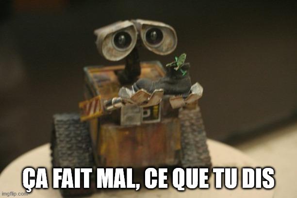 Wall-E triste