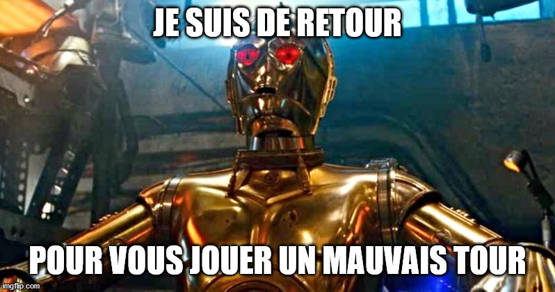 Les Erreurs de la SF, C3PO Corrompu