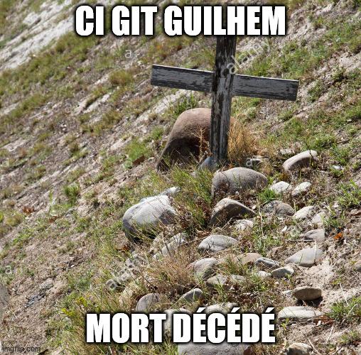 Tombe de Guilhem, le Chevalier