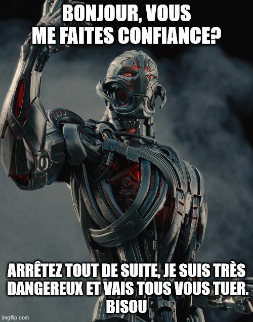 Ultron, les Erreurs de la SF